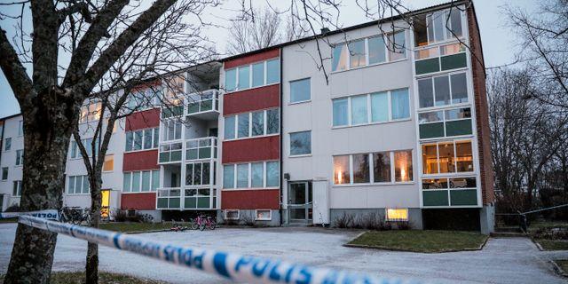 Bild från platsen.  Pavel Koubek/TT / TT NYHETSBYRÅN