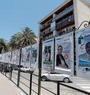 Valaffischer i Alger. Toufik Doudou / TT NYHETSBYRÅN