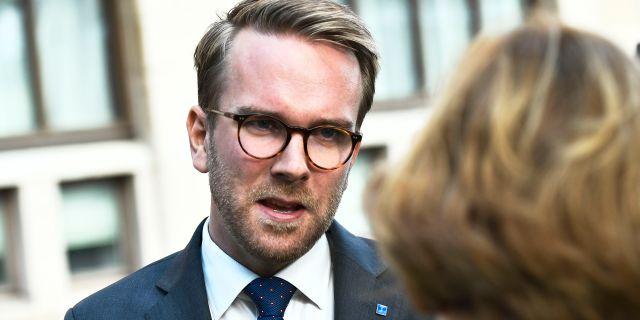 Andreas Carlsson (KD). Claudio Bresciani/TT / TT NYHETSBYRÅN
