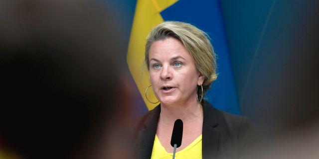 Johanna Sandwall.  Janerik Henriksson/TT / TT NYHETSBYRÅN
