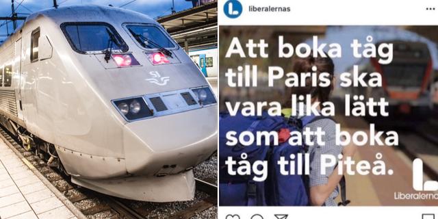 Arkivbild/Skärmavbild från Liberalernas instagram.  TT/Skärmavbild.