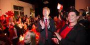 Arbeiderpartiets valvaka Hommedal, Marit / TT NYHETSBYRÅN