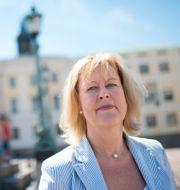 Vd Eva Halvarsson.  BJÖRN LARSSON ROSVALL / TT / TT NYHETSBYRÅN