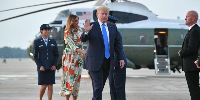 Donald Trump.  MANDEL NGAN / AFP