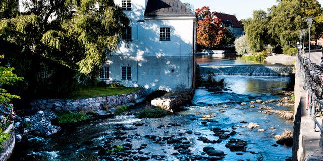 Fyrisån i Uppsala. Arkivbild. Pontus Lundahl/TT / TT NYHETSBYRÅN