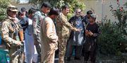 Säkerhetstjänsten utreder explosionen som dödade Abdul Jabar Qahraman. STR / TT NYHETSBYRÅN