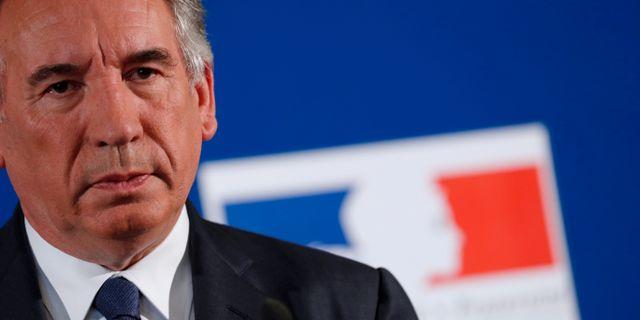 Frankrikes justitieminister François Bayrou. Arkivbild. Philippe Wojazer / TT NYHETSBYRÅN