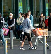 Nya Zeeland under pandemin Dean Purcell / TT NYHETSBYRÅN