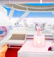 Skärmdump från trailer till Star Vault-spel.  Star Vault