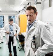 Vaccin/Matti Sällberg till höger. TT