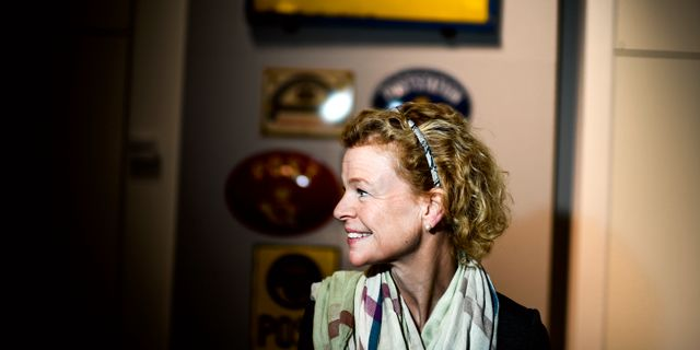 Annemarie Gardshol. Pontus Lundahl/TT / TT NYHETSBYRÅN
