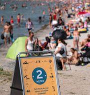 Lomma Beach i Skåne. Johan Nilsson/TT / TT NYHETSBYRÅN