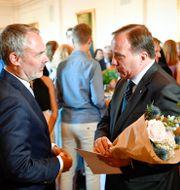 Jan Björklund och Stefan Löfven.  Erik Simander/TT / TT NYHETSBYRÅN