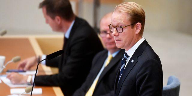 Tobias Billström.  Fredrik Sandberg/TT / TT NYHETSBYRÅN