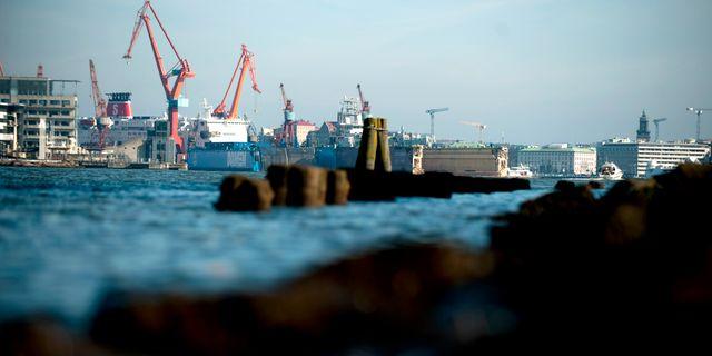 Göteborgs hamn.  ADAM IHSE / TT / TT NYHETSBYRÅN