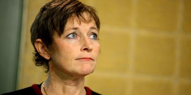 Transportstyrelsens dåvarande generaldirektör Maria Ågren. FREDRIK PERSSON / TT NYHETSBYRÅN