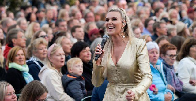 Bild från fjolårets upplaga av Allsång på Skansen. Janerik Henriksson/TT / TT NYHETSBYRÅN