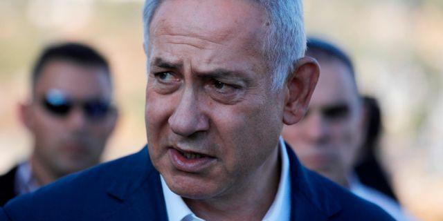 Benjamin Netanyahu. MENAHEM KAHANA / AFP