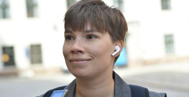 Annika Hirvonen Falk/Arkivbild.  Stina Stjernkvist/TT / TT NYHETSBYRÅN