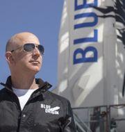 Amazon-grundaren och Blue Origin-ägaren Jeff Bezos. HO / BLUE ORIGIN