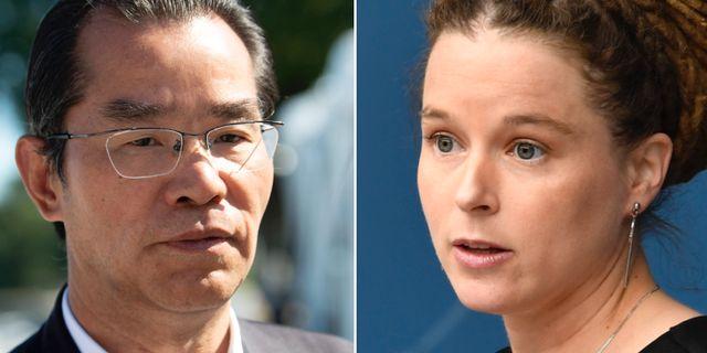 Kinas ambassadör i Sverige, Gui Congyou/Amanda Lind. TT