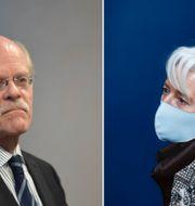 Pontus Lundahl/TT och  Francisco Seco/AP/TT Riksbankens Stefan Ingves och ECB:s Christine Lagarde