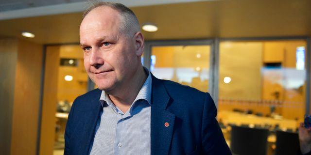 Jonas Sjöstedt. Jessica Gow/TT / TT NYHETSBYRÅN