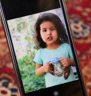 Sumaya, en av flickorna som dödades i attacken. Khwaja Tawfiq Sediqi / TT NYHETSBYRÅN