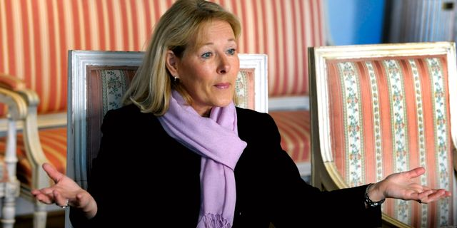 Operachefen Birgitta Svendén. JANERIK HENRIKSSON / TT / TT NYHETSBYRÅN