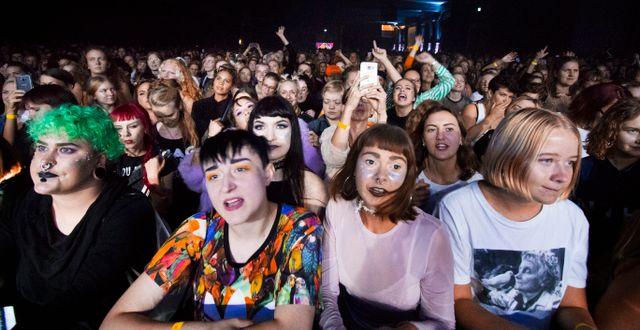 Publiken under Statement-festivalen. Frida Winter/TT / TT NYHETSBYRÅN