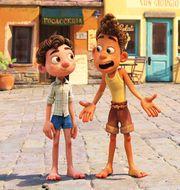 "Bild från ""Luca"". Disney/Pixar"