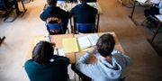 Arkivbild. Klassrum på Rålambshovskolan i Stockholm. Hossein Salmanzadeh / TT / TT NYHETSBYRÅN