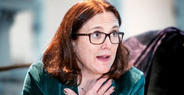 Cecilia Malmström/Arkivbild. Tomas Oneborg/SvD/TT / TT NYHETSBYRÅN
