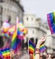 Prideparad i London. Arkivbild.  Shutterstock