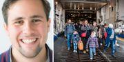 Benjamin Dousa/Flyktingar som anlände till Trelleborg i november Moderata studenter/TT