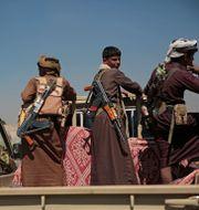 Huthirebeller i Saana, Jemen/Arkivbild Hani Mohammed / TT NYHETSBYRÅN