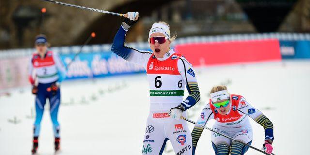 Linn Svahn.  Jens Meyer / TT NYHETSBYRÅN