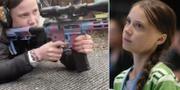 Emmy Slinge/Greta Thunberg PRIVAT/TT