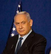 Israels premiärminister Benjamin Netanyahu. Maya Alleruzzo / TT NYHETSBYRÅN