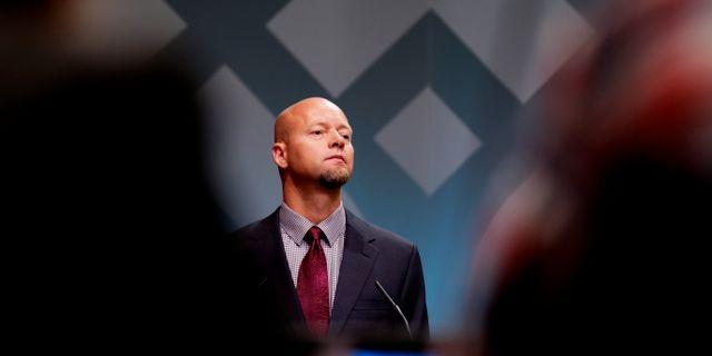 Yngve Slyngstad, chef för oljefonden. Larsen, Håkon Mosvold / TT NYHETSBYRÅN