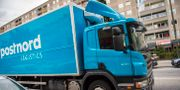 Postnord-lastbil i Malmö. Arkivbild Emil Langvad/TT / TT NYHETSBYRÅN