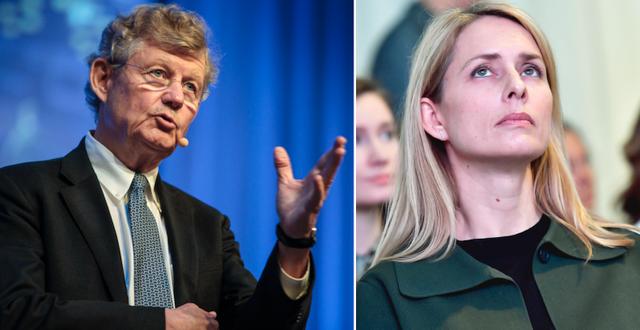 Investors ordförande Jacob Wallenberg och H&M:s vd Helena Helmersson. TT