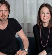 Grundarna Niklas Aronsson och Lina Gebäck. Anders Ahlgren/SvD/TT / TT NYHETSBYRÅN
