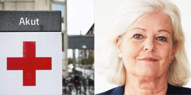 Ann Johansson, vice ordförande för Vårdförbundet. TT/ Dan Lepp