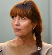 Kommunals ordförande Tobias Baudin och IF Metalls ordförande Marie Nilsson. TT