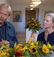 Anders Lindberg och Maria Ludvigsson.  SVT