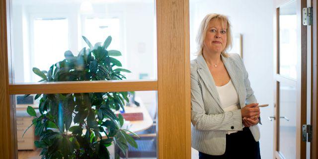Eva Halvarsson år 2012. BJÖRN LARSSON ROSVALL / TT / TT NYHETSBYRÅN