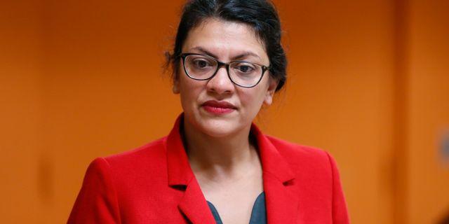 Rashida Tlaib Paul Sancya / TT NYHETSBYRÅN/ NTB Scanpix