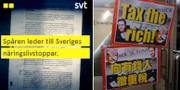 Skärmdump från Uppdrag Gransknings teaser TT/SVT