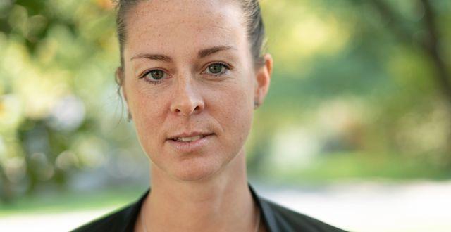 Lotta Schelin.  Björn Larsson Rosvall/TT / TT NYHETSBYRÅN
